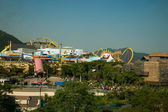 Ocean Park Hong Kong Ocean Park Tower on a play area overlooking the Thrill — Stock Photo
