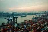 Hong Kong Container Terminal — Stock Photo