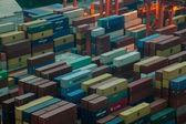 Hong Kong Container Terminal — Stock Photo