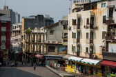 Macau Street — Stock Photo