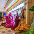 Macau Galaxy Casino Crystal Palace Crystal Fairy performances — Stock Photo