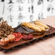 Chinese traditional medicine health benefit — ストック写真