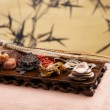 Chinese traditional medicine health benefit — Foto Stock