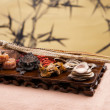 Chinese traditional medicine health benefit — 图库照片