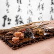 Chinese traditional medicine health benefit — Стоковая фотография