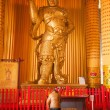 Dagoba Xi'an Famen Temple Underground Palace center four kings like — Stock Photo
