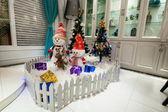 Chongqing North Shore Drive Lake Star Hyatt Place Interior 2012 Christmas Tree — Stock Photo