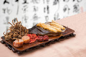 Chinese traditional medicine health benefit — Foto de Stock
