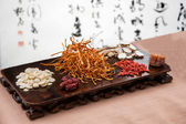 Chinese traditional medicine health benefit — Stockfoto