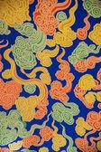 Dagoba xi'an famen templet underground palace dagar på molnet mönster — Stockfoto
