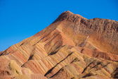 Zhangye Danxia landform wonders National Geopark — Foto Stock
