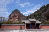 Tianshui Maiji monasteries and caves — Stock Photo
