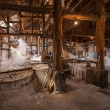 Zigong one thousand meters ancient salt - Sun Sewells ruins reproduce ancient tradition of salt craft workshops — Zdjęcie stockowe #35228265