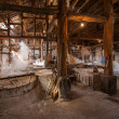 Zigong one thousand meters ancient salt - Sun Sewells ruins reproduce ancient tradition of salt craft workshops — Stockfoto #35228265