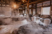 Zigong one thousand meters ancient salt - Sun Sea wells ruins reproduce the ancient tradition of salt craft workshops — 图库照片