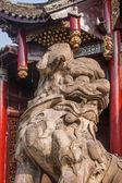 Zigong Salt Museum Kadoba stud beast and the town house lions — Stock Photo