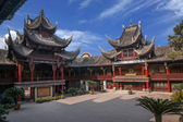 Zigong Salt Museum courtyard — Stock Photo