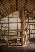 Zigong sale museo vetrina antico naufragio pestello telaio — Foto Stock