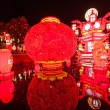 "Nineteenth Zigong International Dinosaur Lantern Festival ""Chinese Lantern"" Main area — Stock Photo"