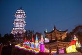 "Nineteenth Zigong International Dinosaur Lantern Festival ""Happy Castle"" Main attractions — Stock Photo"