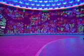 "Nineteenth Zigong International Dinosaur Lantern Festival ""Dream sky"" Main area — Foto Stock"