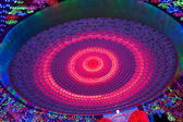 "Nineteenth Zigong International Dinosaur Lantern Festival ""Dream sky"" Main area — Stock fotografie"