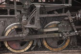 Leshan City, Sichuan Qianwei Ka Yang Yuejin train station axle — Stock Photo