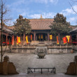 Leshan City, Sichuan Qianwei qianwei Temple Great Hall — Stock Photo