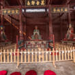 Fushun Fushun County, Sichuan Province Dacheng Hall statue of Confucius Temple — Stock Photo