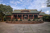 Leshan City, Sichuan Qianwei qianwei Dacheng Temple Gate — Stock Photo