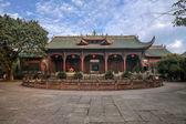 Stadt Leshan, Sichuan Qianwei Qianwei Dacheng-Temple-Tor — Stockfoto
