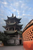 Leshan City, Sichuan Qianwei Confucian Temple Kuige qianwei — Stock Photo