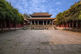 Fushun Fushun County, Sichuan Province Temple Great Hall — Stock Photo