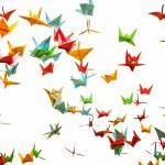 Постер, плакат: Paper cranes