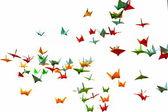Paper cranes — Stock Photo