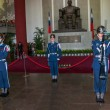 "Taipei, Taiwan, ""Sun Yat-sen Memorial Hall"" changing of the guard ceremony ceremonial soldiers punctual time — Stock Photo #40336377"