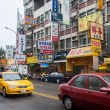 Stock Photo: Taiwan's Feng ChiNight Market, Taichung, TaiwWenhuRoad streetscape ago