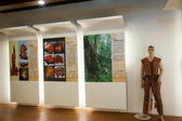 Puli Township, Nantou County, Taiwan Thao culture exhibition gallery — Stock Photo