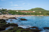 Hengchun Peninsula, the southernmost island of Taiwan, Kenting National Park --- Little Bay Beach — Stock Photo