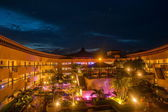 Taiwan Island, the southernmost Hengchun Peninsula --- Howard Beach Gardens Resort Hotel Nights — Zdjęcie stockowe