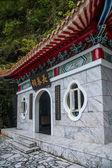 "Taroko National Park in Hualien County, Taiwan ""Changchun Temple"" — Stock Photo"