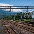 Hualien City, Hualien County, Taiwan Railway Station site under Beipu — Stock Photo #46422145