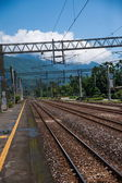 Hualien City, Hualien County, Taiwan Railway Station site under Beipu — Stock Photo