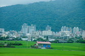 Idyllic territory of Ilan County, Taiwan — Stock Photo