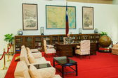 """Zhongzheng District, Taipei, Taiwan, Chiang Kai-shek Memorial Hall Chiang Kai-shek Memorial Hall, complete show """"Presidential Palace"""" original topography Chiang office — Stock Photo"""