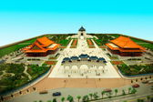 Zhongzheng District, Taipei, Taiwan, Chiang Kai-shek Memorial Hall miniature sandbox — 图库照片