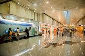 Taiwan Taoyuan International Airport Terminal duty-free shopping malls — Stock Photo