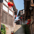 Chongqing Rongchang Road Hole Old Town Streets — Stock Photo #46999051