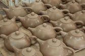 "An Chongqing Rongchang pottery studio pottery museum ""Rongchang Tao"" blank — Stock Photo"
