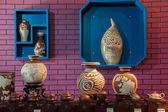 Un'esposizione Museo rongchang chongqing rongchang ceramiche ceramiche — Foto Stock